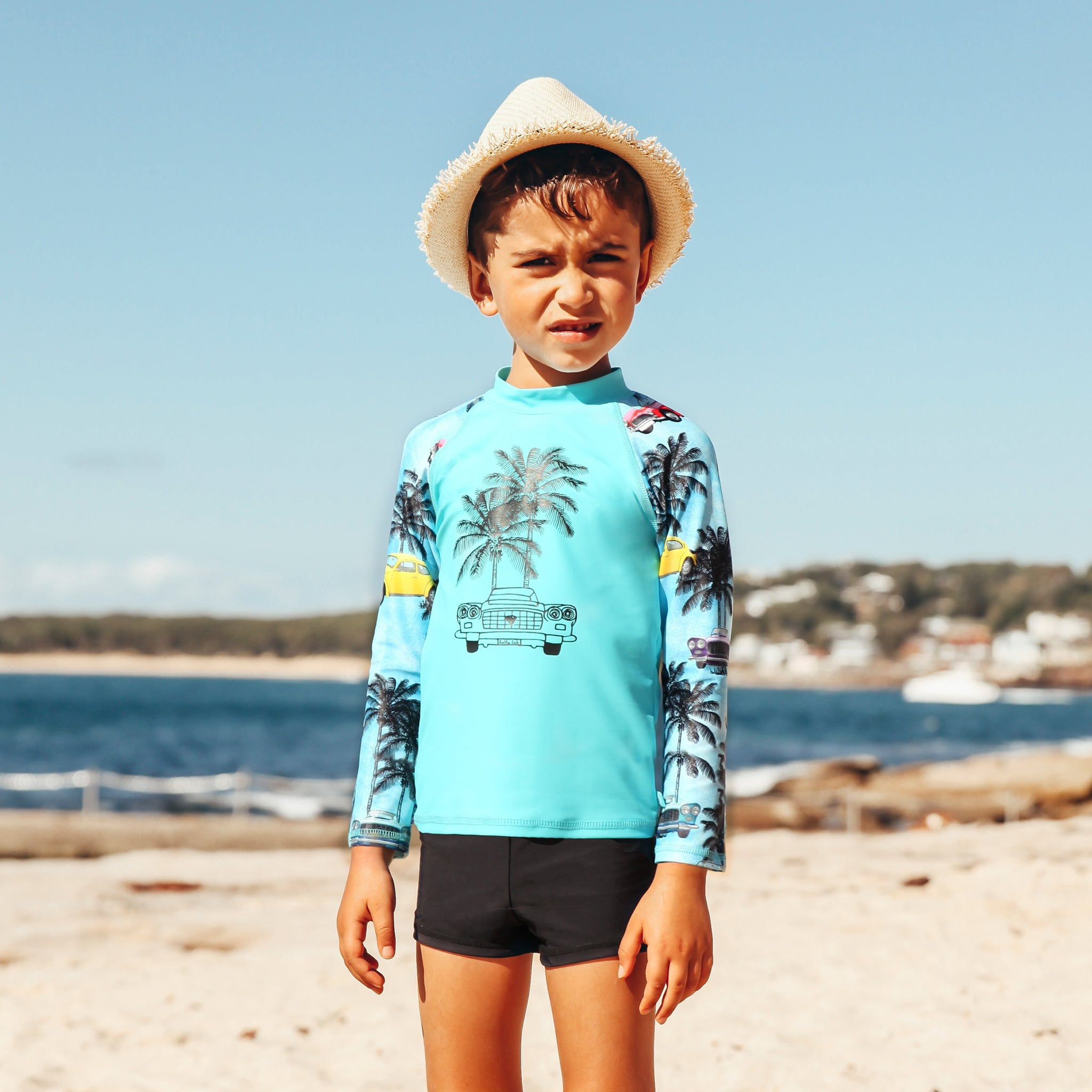 410 Tropix Long Sleeve Rashvest Set - Salty Ink