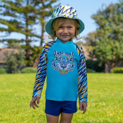 410 Cosmik Roar Long Sleeve Rashvest Set