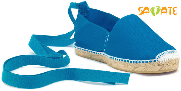 Blue Espadrilles - Savate