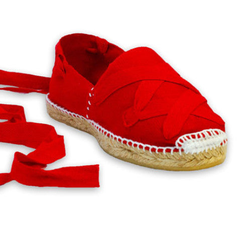 Red Shoes with Red Laces - Savate