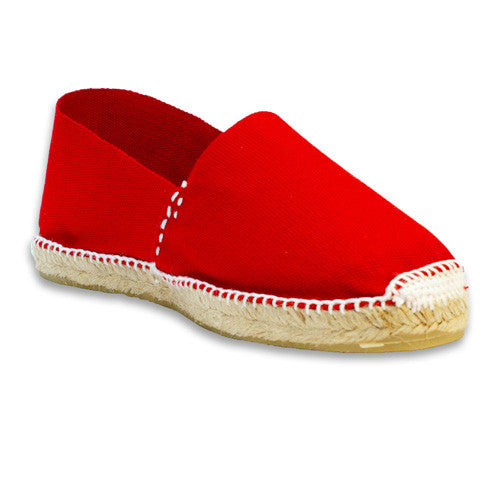 Womens casual shoes - Red Espadrilles