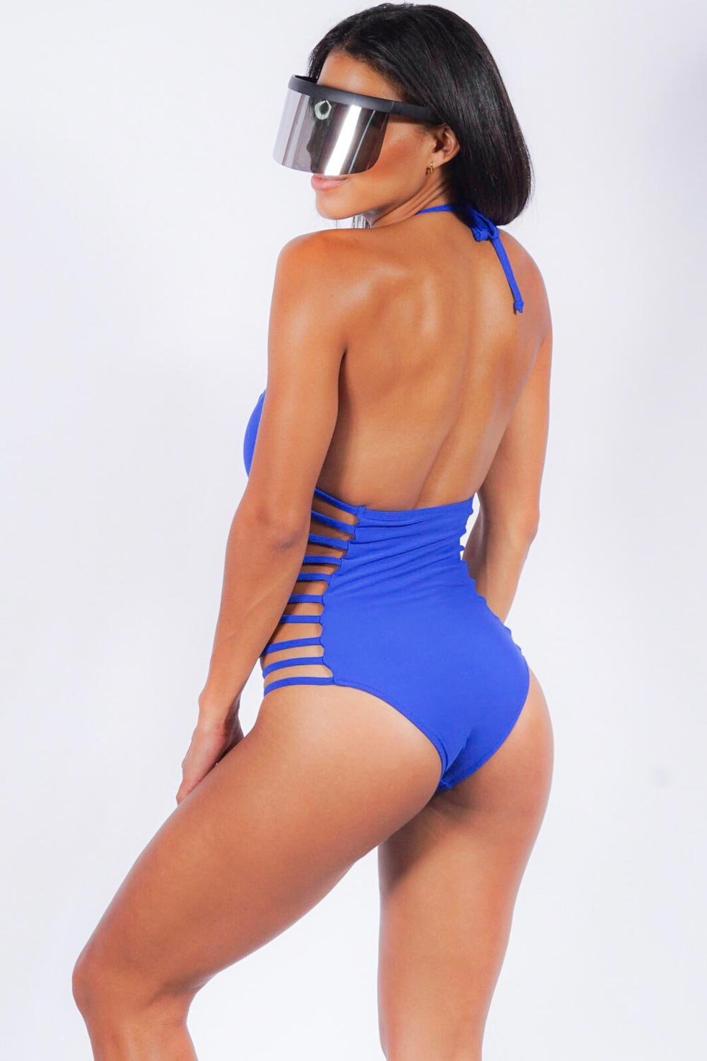 Maroubra Beach one piece, royal
