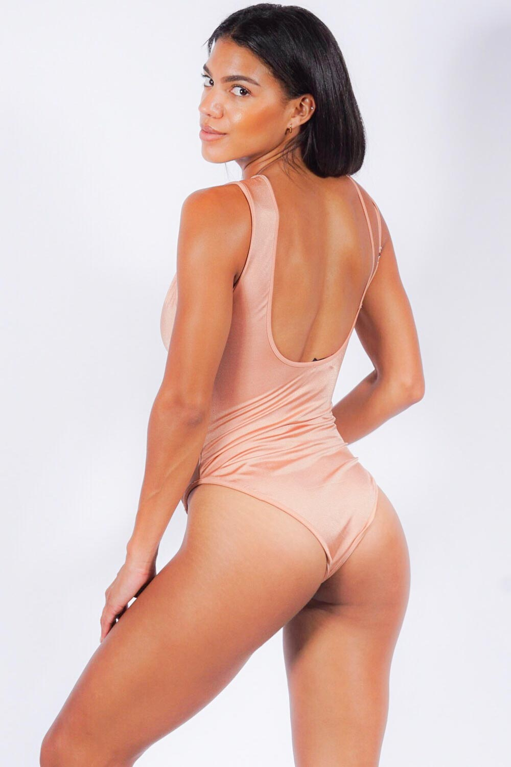 Golden Bay one piece, champagne