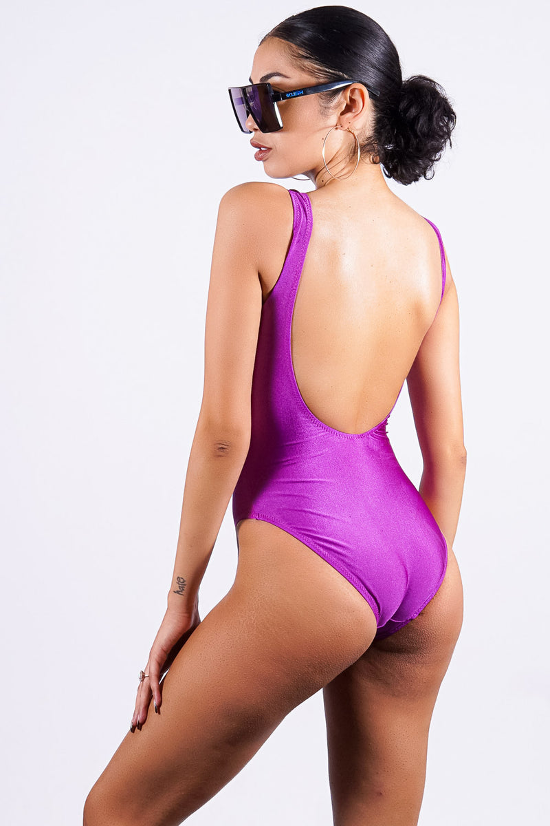 Varadero one piece, purple