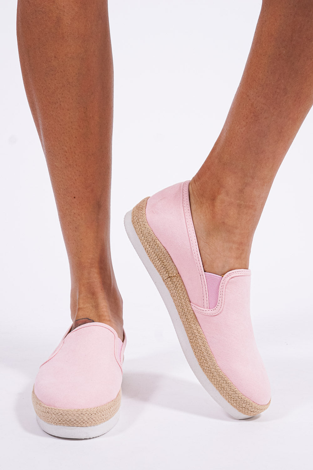 Manhattan deck shoes, pink