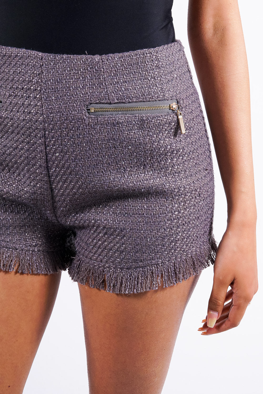 Morgan's shorts, grey