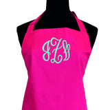 Triple Circle Monogram Apron