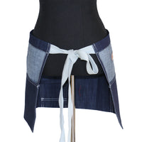 U332D Short Denim Waist Apron