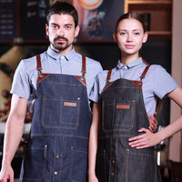 leather canvas denim apron, barista apron, chef apron for cooking, gardening, crafting, tattoo artists, bartenders, baristas, chefs, hair stylists, etc. Personalized gifts for a birthday, wedding, Mother's Day, Father's day ,anniversary or housewarming. Embriodered aprons, Barista apron, BBQ apron, Grill apron, Barber apron, Chef apron