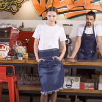JB Aprons - denim apron, barista apron, chef apron for cooking, gardening, crafting, tattoo artists, bartenders, baristas, chefs, hair stylists, etc. Personalized gifts for a birthday, wedding, Mother's Day, Father's day ,anniversary or housewarming. Embriodered aprons, Barista apron, BBQ apron, Grill apron, Barber apron, Chef apron