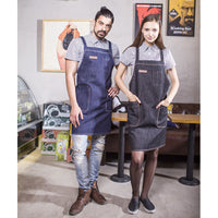denim apron, barista apron, chef apron for cooking, gardening, crafting, tattoo artists, bartenders, baristas, chefs, hair stylists, etc. Personalized gifts for a birthday, wedding, Mother's Day, Father's day ,anniversary or housewarming. Embriodered aprons, Barista apron, BBQ apron, Grill apron, Barber apron, Chef apron