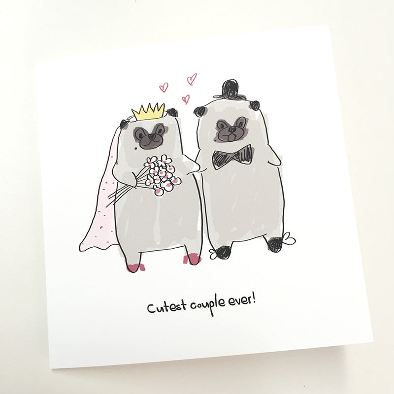 Cutest Couple Ever! card