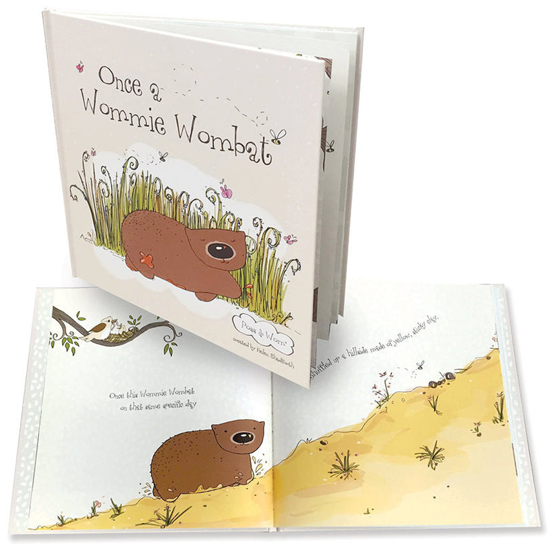 Once a Wommie Wombat Book