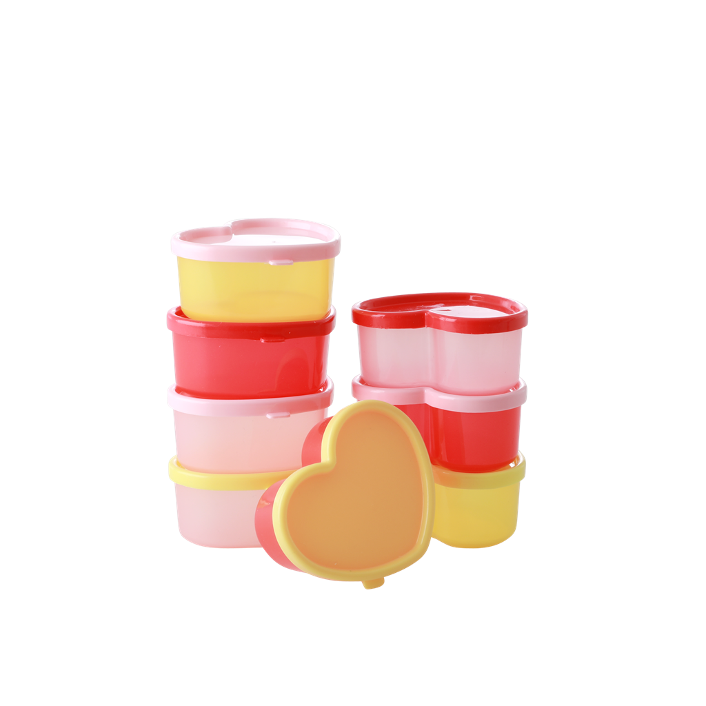 Heart Shape Plastic Food Keepers