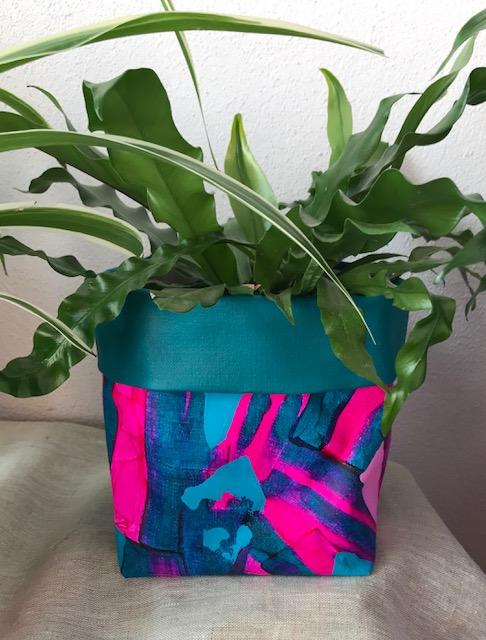 Neon Nights Planter