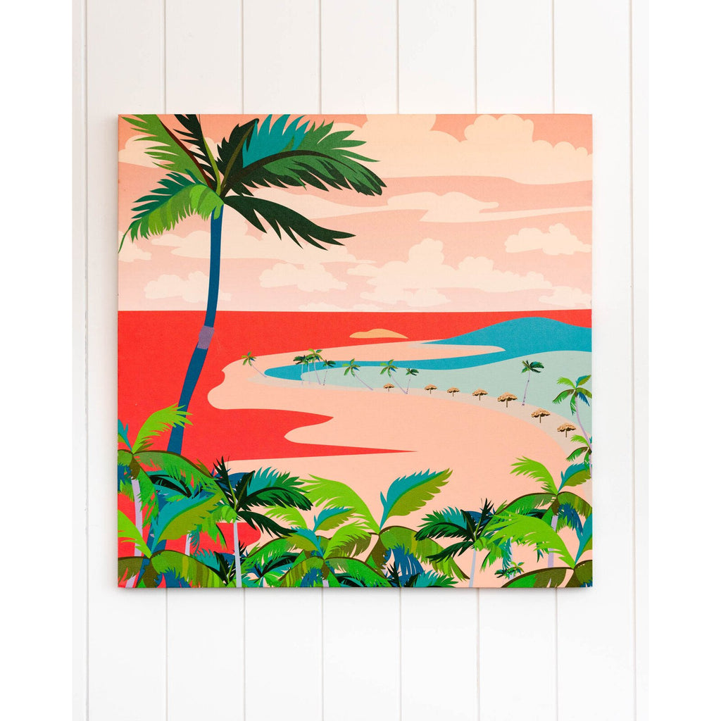 Canvas Print - Peach Beach Dreams