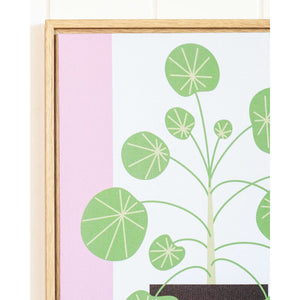 Grow Plant, Grow! - Framed artwork