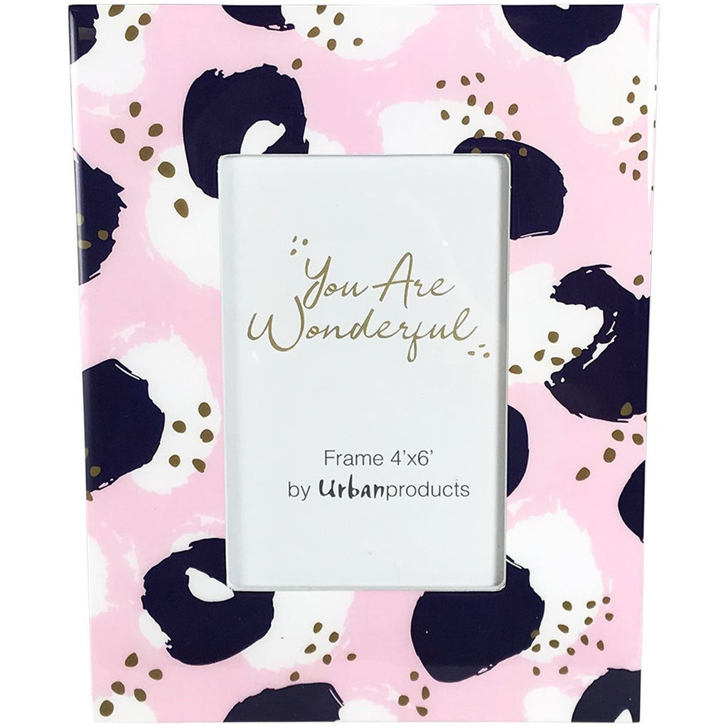You Are Wonderful Frame - Pink Blue