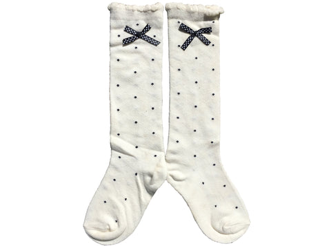 SALE Lightning Never Strikes Twice kneehigh socks - grey