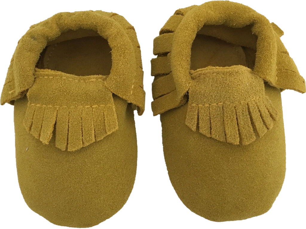 SALE Suede Moccs: Colonel Mustard