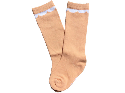 Soft Kitty kneehigh socks - off white
