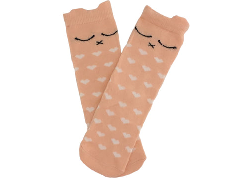 Soft Kitty kneehigh socks - navy