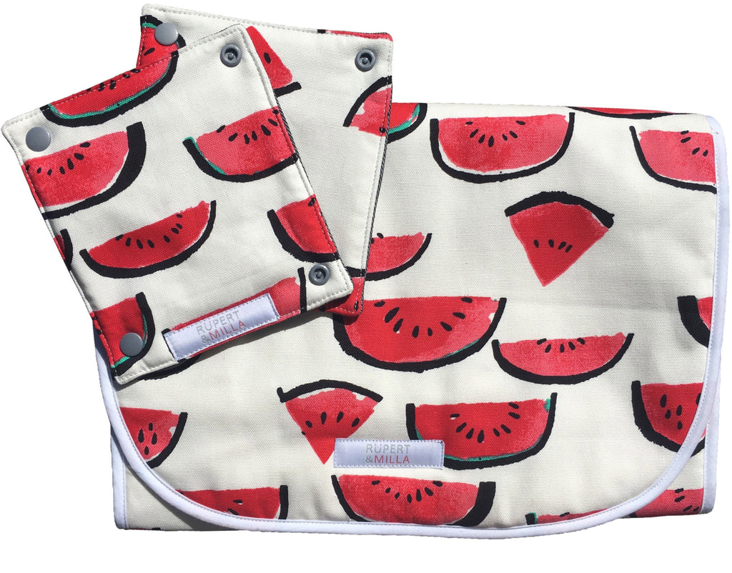 I Love Watermelon Pram Liner