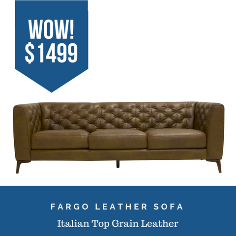 Leather Sofa Sale in Katy Texas