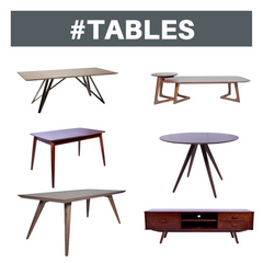 Tables in Katy Furniture Store