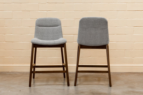 "Morten Bar Stool 29"" (Black - Set of 2)"