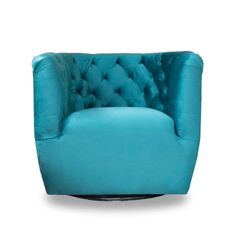 Kyle Lounge Chair (Earth Green)