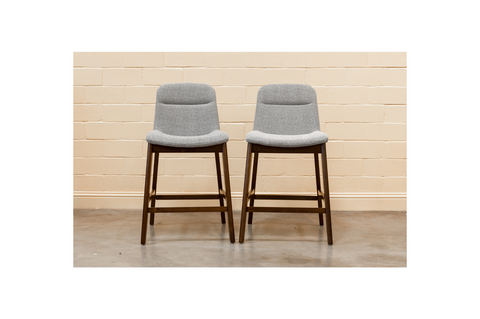 "Sede Bar Stool 29"" (Black - Set of 2)"