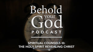 Spiritual Counsels III: The Holy Spirit Revealing Christ