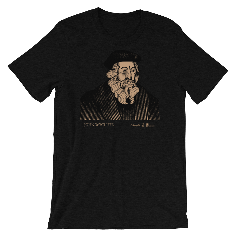 John Wycliffe T-Shirt | PURITAN Collection