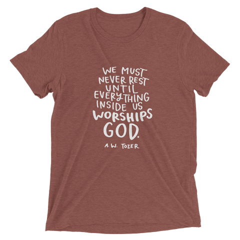 Tozer Quote Short Sleeve T-shirt