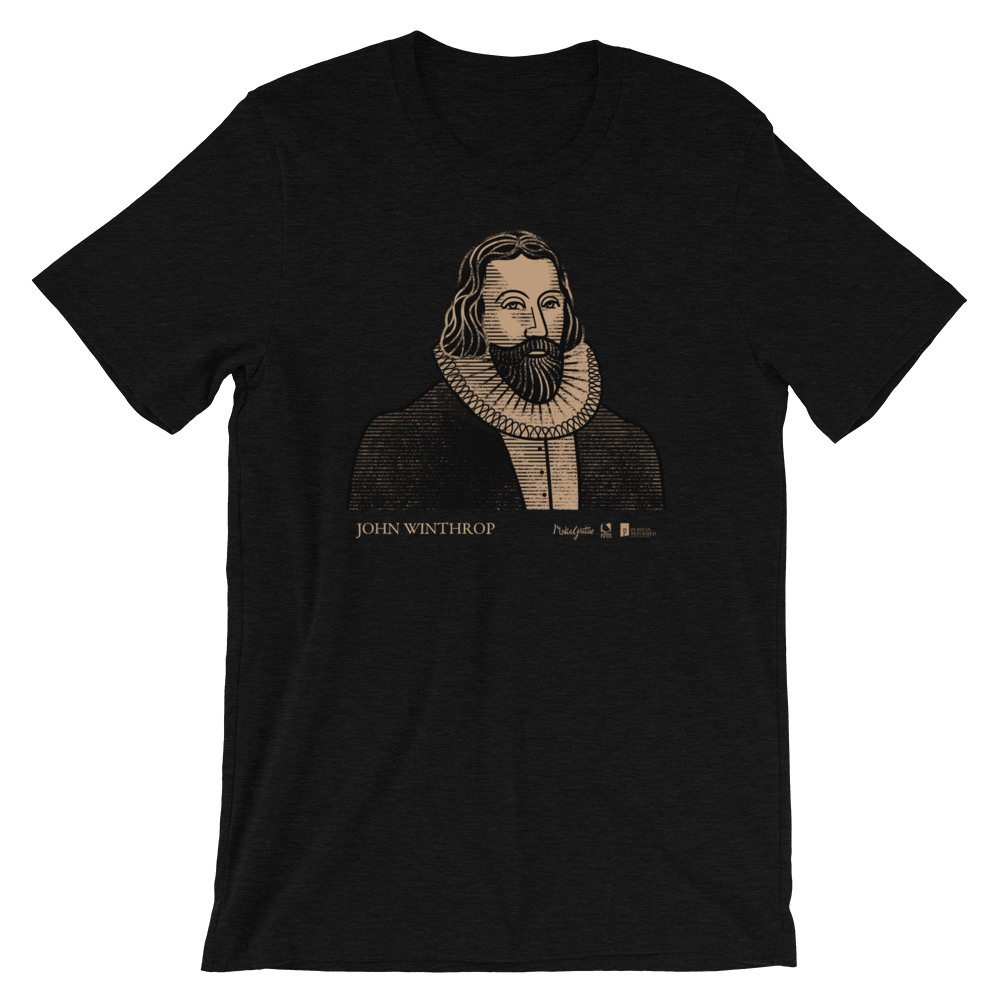 John Winthrop T-Shirt | PURITAN Collection