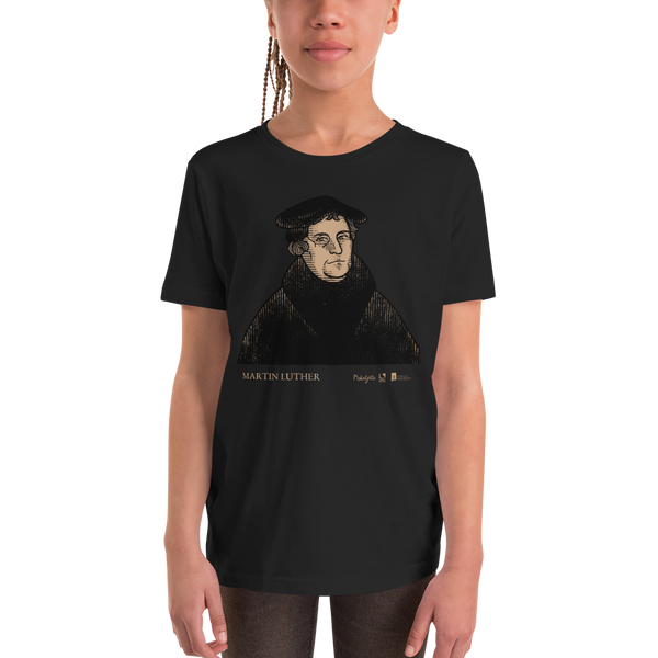 Martin Luther Youth T-Shirt | PURITAN Collection