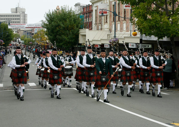 Auckland and Districts Pipe Band and Solo piper - Auckland