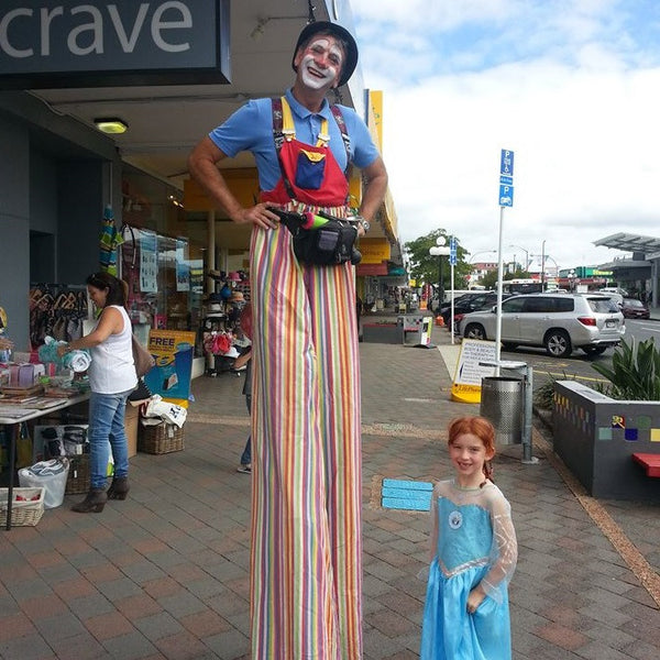 Cherry the Clown - Clown or Stilt Walker - Auckland