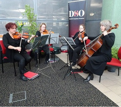 New Edinburgh Quartet - Classical Music Group - Dunedin