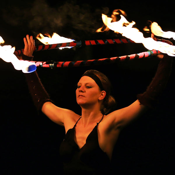 Grace Raven - Fire and Glow Dancer - Tauranga