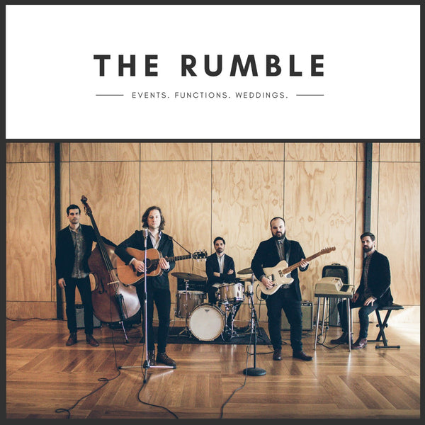 The Rumble - 1960s Covers Band - Wellington