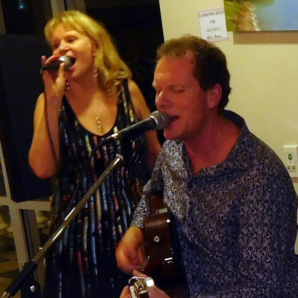 Silver and Strings - Flute / Vocals and Guitar Duo -  Auckland