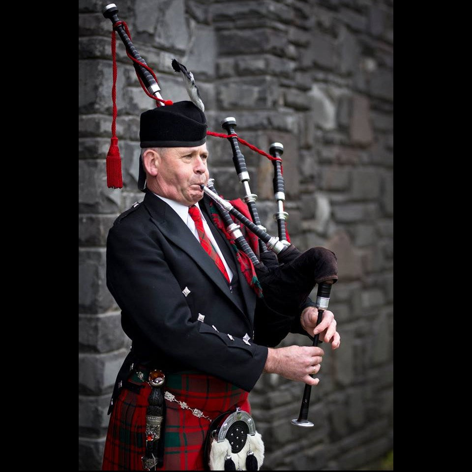 Stuart Wood - Bagpipe Player - Christchurch - PME