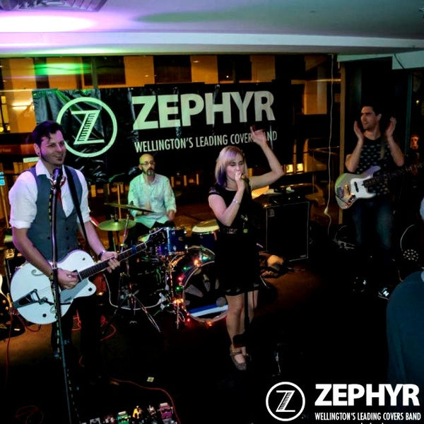 Zephyr - 4 Piece Covers Band - Wellington