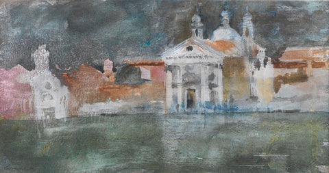Evening Gesuati, Venice. - from the 'Watercolours' collection by Jane Corsellis