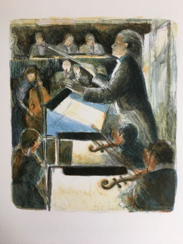 The Conductor at the Opera