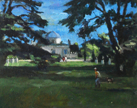 Chiswick House - from the 'Oils' collection by Jane Corsellis