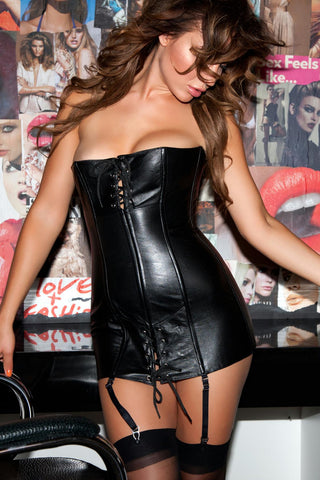 100% genuine leather Dress