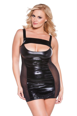 92% Polyester 8% Elastan Dress One Size Black